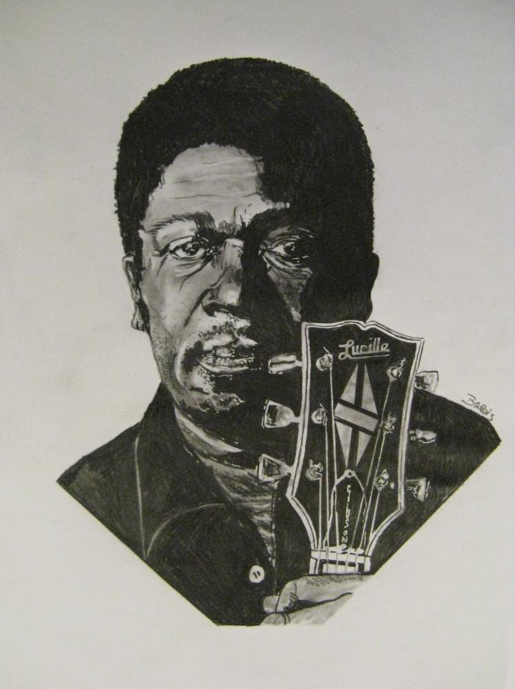 B.B. King by stef